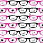 メガネ柄A4ペーパー