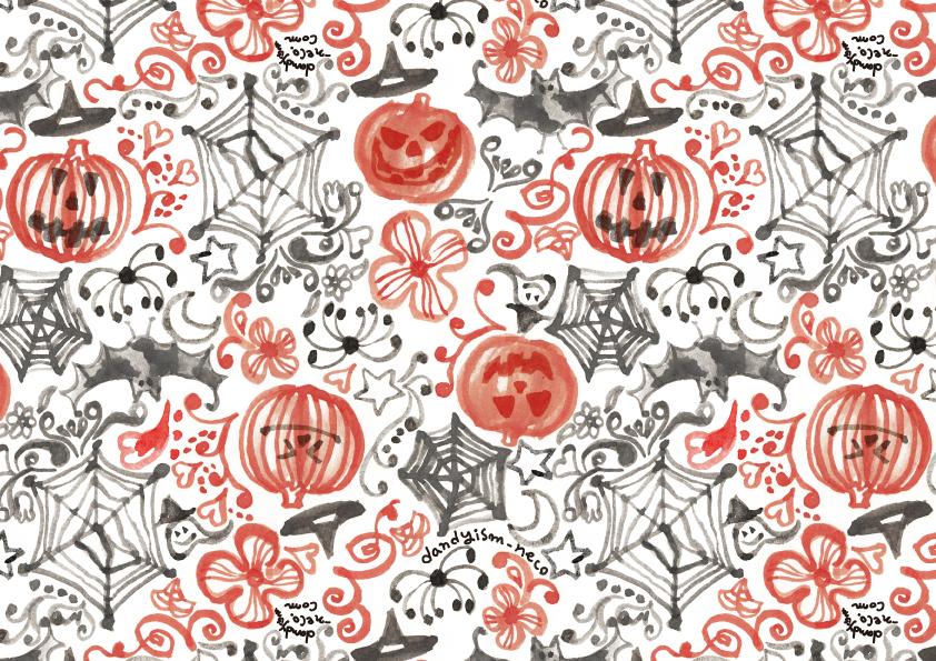 ハロウィン柄 包装紙